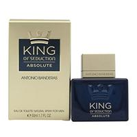 ANTONIO BANDERAS King Of Seduction ABSOLUTE Edt  50мл